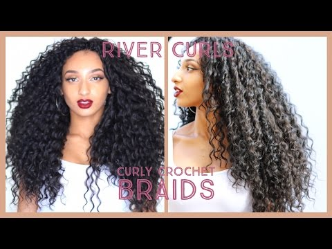 Curly Crochet Braids(knotless): Watch me install wavy hair in 2.5 hours! ll ft. Trendy Tresses