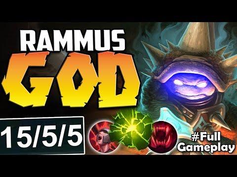 BEWARE THE TOP LANE RAMMUS GOD | TRY TO STOP THIS FORCE | Rammus vs Camille TOP | S8 Ranked Gameplay