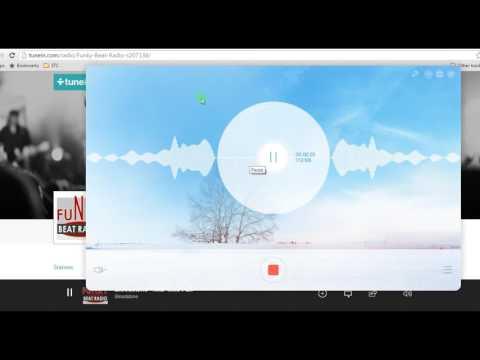 Free method to record internet radio