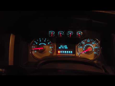 2010 Ford F-150:  Resetting the Oil Life Indicator