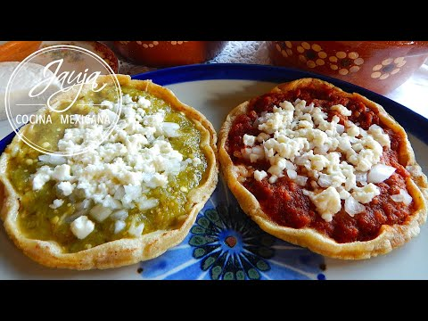 Picaditas. Mexican Street Food