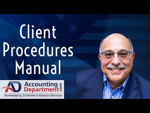 Client Procedures Manual (CPM) - AccountingDepartment.com