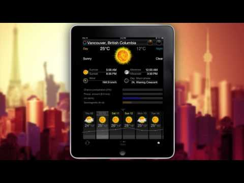eWeather HD - weather forecast, alerts, high-definition radar for iPhone and iPad