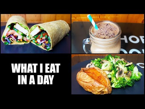 WHAT I EAT IN A DAY (VEGAN) - CookingwithKarma