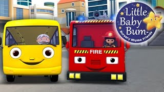 Wheels On The Bus | Part 11 | Nursery Rhymes | By LittleBabyBum!!