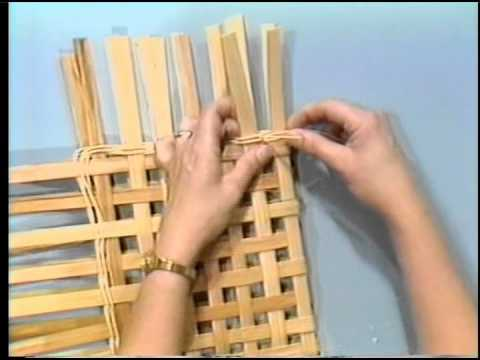 How to Weave an Envelope Basket - Basket Weaving for Beginners