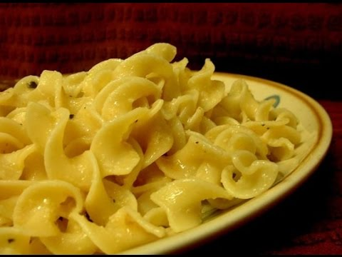 buttered noodles - how to make easy and quick buttered noodles recipe