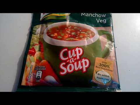 Knorr manchow veg soup - knorr instant soup
