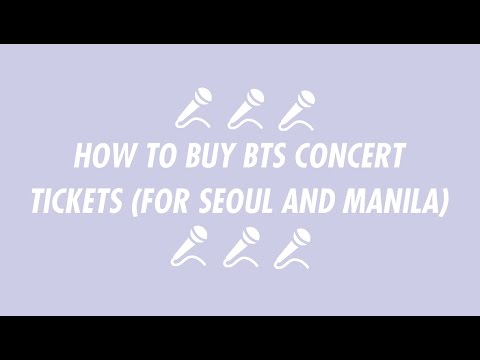 How to buy BTS concert tickets (for Seoul and Manila concerts)