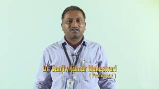 Dr. Sanjiv Kumar Maheshwari  DIRECTOR- INSTITUTE OF BIO-SCIENCE & TECHNOLOGY