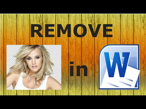 Remove Image Background | Microsoft Word