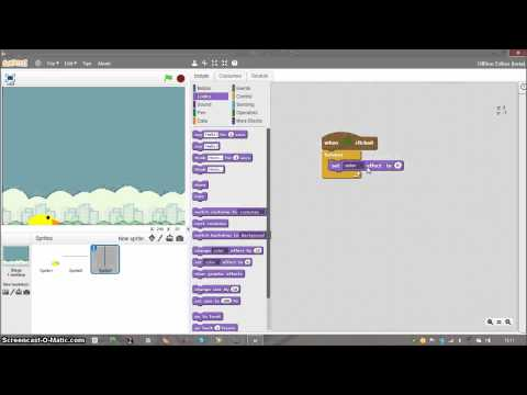 How to make Flappy Bird in Scratch