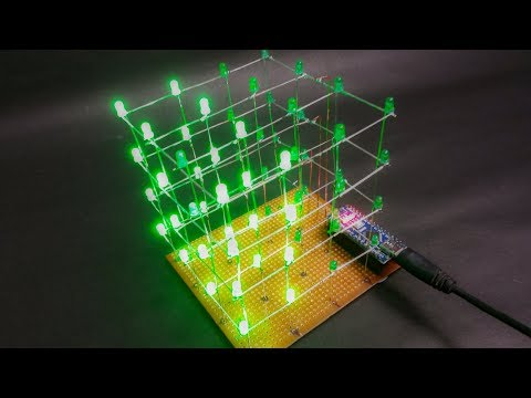 How to make a 4x4x4 _LED_Cube (Et Discover)