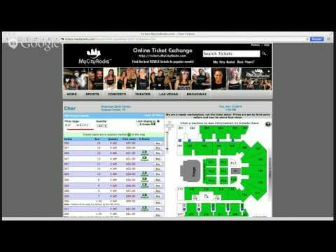 Cher Corpus Christi TX Tickets American Bank Center Concert