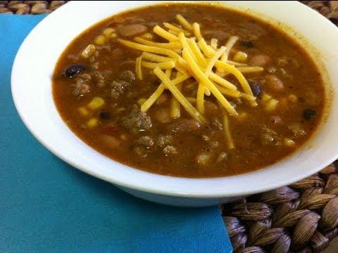 Best Taco Soup Recipe ~ by foodjazz
