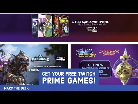 Get Your Free Twitch Prime Games!