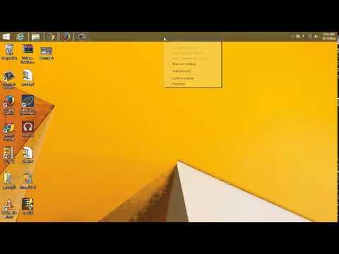How To Move The Windows 8 Taskbar