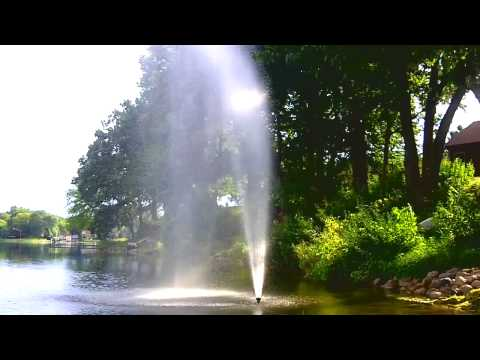 DIY Fountain - IRRIGATION SYSTEM from a pond or lake