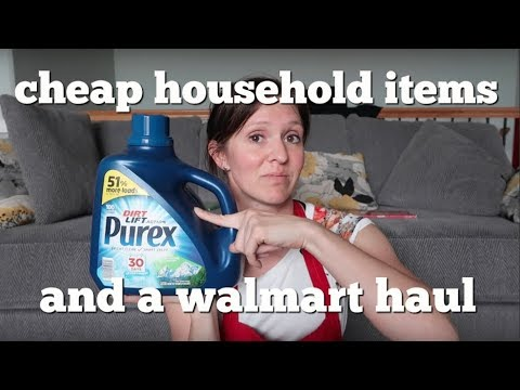 Household Items with Ibotta & Walmart Pickup