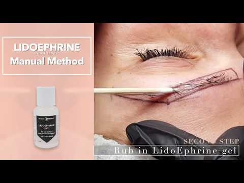 Deluxe Brows - Lidoephrine Gel for Microblading & Permanent Makeup