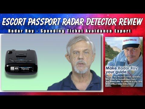 Escort Passport Radar Detector Review