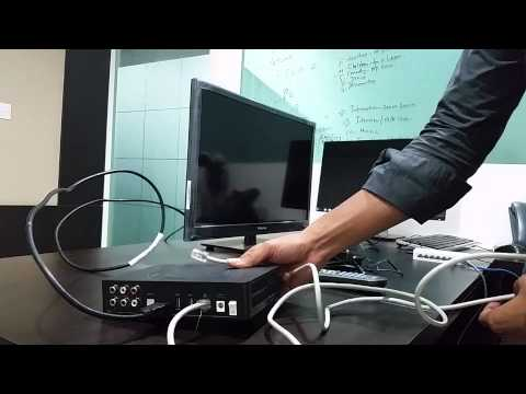 How to setup total cable set top box