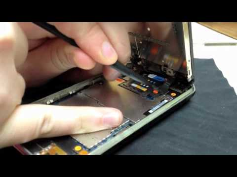 How to replace the glass on an iPhone 3G or iPhone 3GS