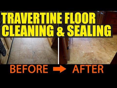 Travertine Floor Polishing Manchester