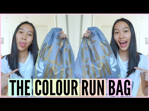 What's In My Bag: The Color Run Starter Pack | Melissa Mui