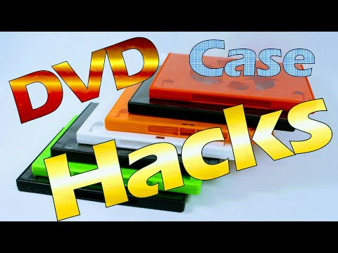 7 Life Hacks with DVD Cases