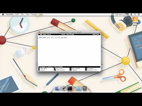 How to Write to NTFS Drives in OS X Mavericks