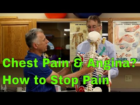 Chest Pain & Angina? How to Treat & Stop Pain