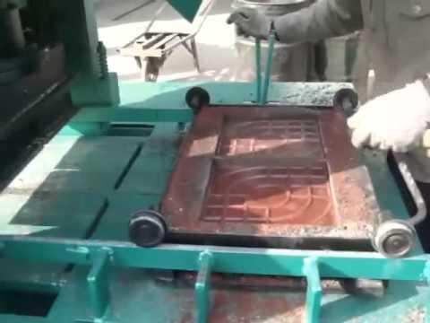 Hydraulic brick making machine/spacers making machine DMYF