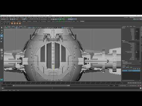 Tie Fighter Modelling in Maya Part 2