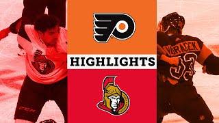 Flyers Vs Senators December 7th 2019 Full Game Highlights NBC Sports Philadelphia