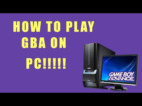 How To Play Gameboy Advance On PC!!!(Windows/MAC)