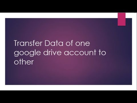 Drive Migrator: Transfer google drive data across G-suite and normal google  account