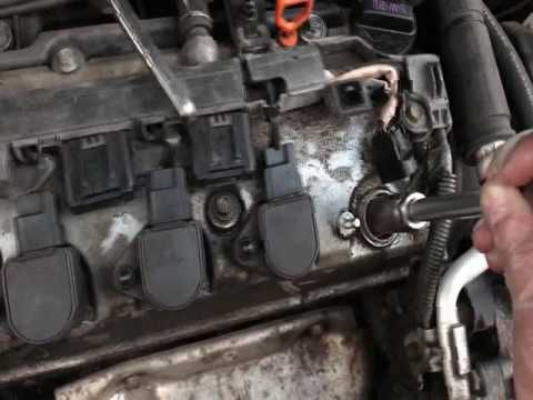 How to replace spark plugs for a 2003 Honda Civic