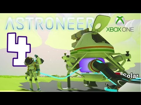 Rover Road Trip and Building a Shuttle! - Astroneer Xbox One Gameplay - Part 4