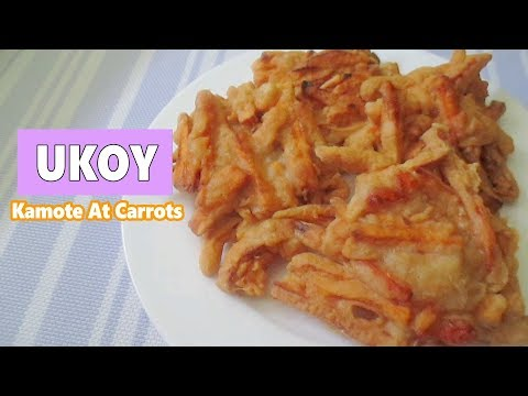 Ukoy Kamote At Carrots  | How to make Ukoy Recipe
