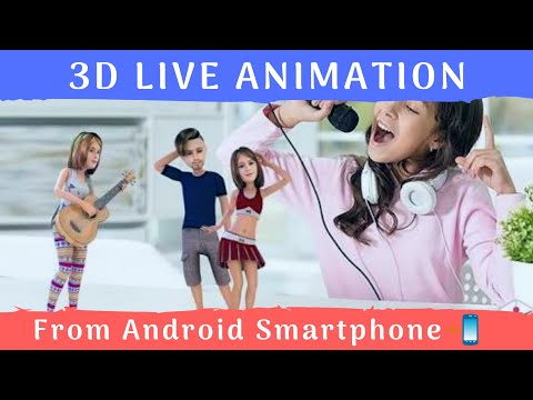 Create 3D Animation from mobile 2018 how to use?app full tutorial
