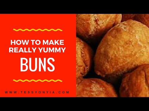 HOW TO MAKE REALLY YUMMY NIGERIAN BUNS...WATCH!