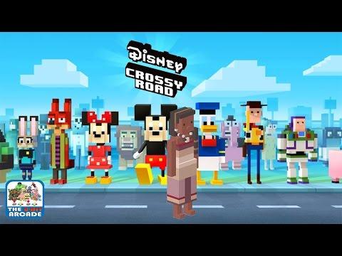 Disney Crossy Road - Moana's Mama, Sina (iOS/iPad Gameplay)