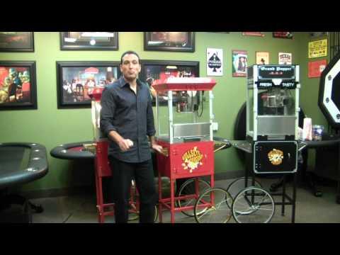Popcorn Machines Toronto at Straight Poker Supplies