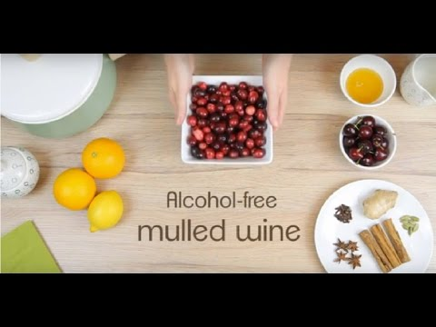 Easy alcohol-free mulled wine recipe (healthy & delicious)