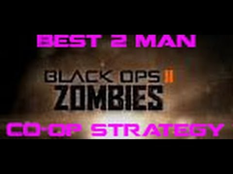 Black Ops 2 Mob of the Dead - BEST 2 Man Co-op Strategy Round 30+