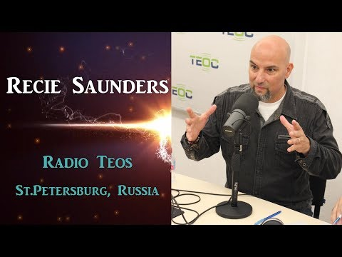 Recie Saunders at the Radio Station