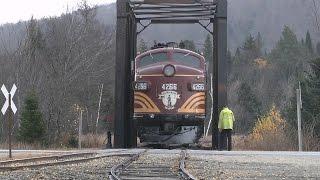 The 470 Railroad Club Crawford Notch Excursion 18th October 2014