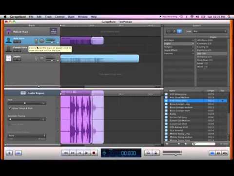 How to Create a Class Podcast Using Garageband