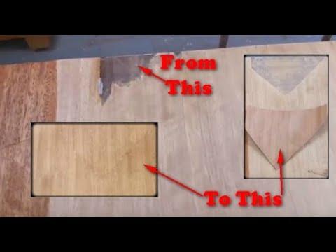 How to Repair Veneer Furniture Using a Wood Veneer Patch